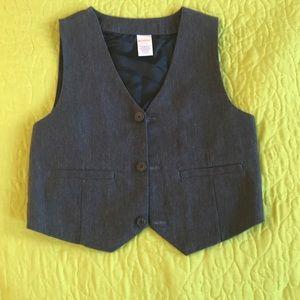 Boys v-neck suit vest